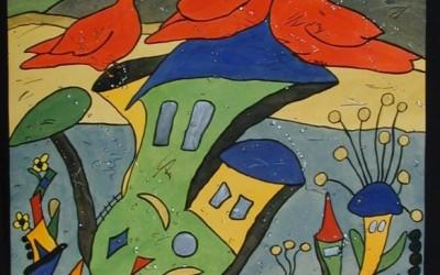 Las Abubillas - Aquarelle - 2002_02_gr
