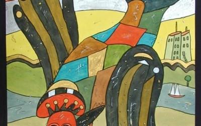 Las Abubillas - Aquarelle - 2002_11_gr