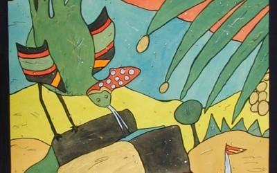 Las Abubillas - Aquarelle - 2002_16_gr