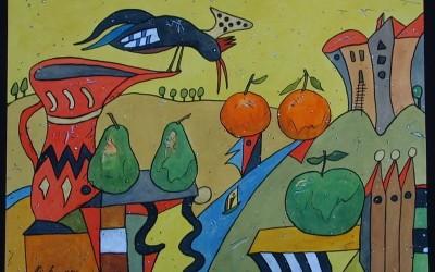 Las Abubillas - Aquarelle - 2002_21_gr
