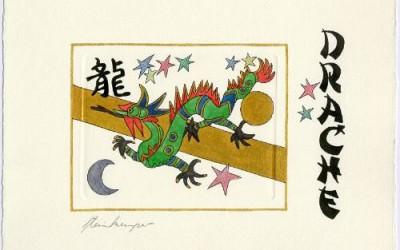 Chinesische Tiersymbole – Drache