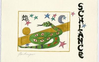 Chinesische Tiersymbole – Schlange