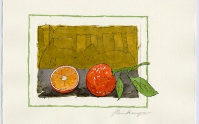 G11 Orangen - Aquarell