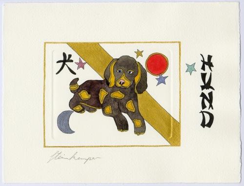 Chinesische Tiersymbole – Hund