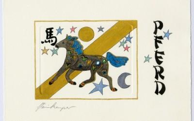 Chinesische Tiersymbole – Pferd