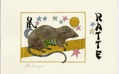 Chinesische Tiersymbole – Ratte