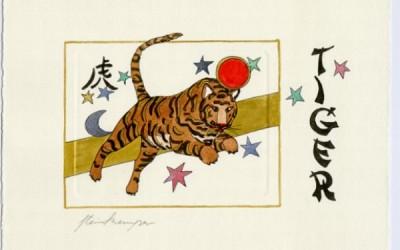Chinesische Tiersymbole – Tiger